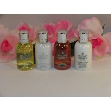 Molton Brown Shampoo Body Wash Contitioner & Lotion 4 Pc Set 1.7oz 30ml each
