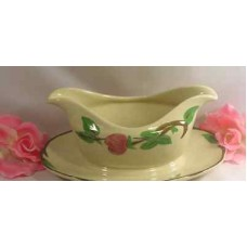 Franciscan Desert Rose Gravy Boat With Fast Stand Serving Piece Great Gift