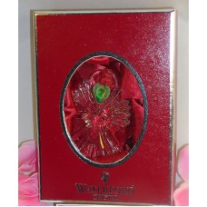 Waterford Lead Crystal Joy Disc Angel Christmas Ornament Easter Holiday Gift