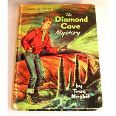 Vintage Troy Nesbit The Diamond Cave Mystery Printed 1954 Children's Series Book