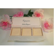 Salvatore Ferragamo Signorina Soap Kit Set of 3 Soaps Boxed 1.7 oz 50 g Each