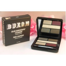 Buxom Eye Shadow Color Choreography 5 Shade Pallette Tango Grey Tan