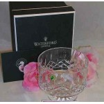 "Waterford Lead Crystal Lismore Simplicity 5"" Footed Serving Vegetable Bowl"