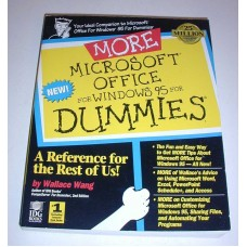 Vintage More Microsoft Office For Windows 95 for Dummies 1996