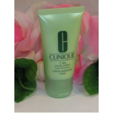 Clinique 7 Day Scrub Rince Off Cleanser Travel Sample Size Tube 1 oz /30 ml