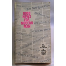 The New Testament In Today's English Version Good News For Modern Man