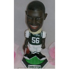 NFL NY JETS Bobble Head Doll Vernon Gholston Outside Line Backer New in Box