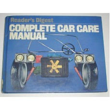 Vintage Readers Digest Complete Car Care Manual 1981