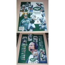 NFL New York JETS Official Yearbook 2000 & Poster Football Team Book Magazine