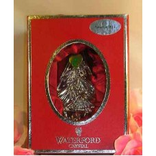 Waterford Lead Crystal Christmas Tree Ornament Special Edition Tree 2011