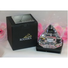 Rogaska Crystal iPhone iPod iPad Charging Station Desk Top USB Connector