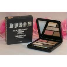 Buxom Eye Shadow Color Choreography 5 Shade Pallette Swing Pink Grey Tan