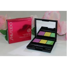 Shiseido Luminizing Satin Eye Color Trio YE406 .1oz / 3g  Purple Green Yellow