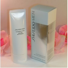 Shiseido Men Cleansing Foam Full Size Tube Creamy Rich Lather 4.6 oz  125 ml