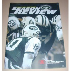 NFL New York JETS Official Season Review 2002 Football Magazine Team Book