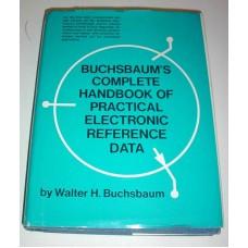 Vintage Bushbaums Complete Handbook of Practical Electronic Reference Data