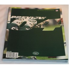 NFL New York JETS Official Season Preview 2004 Football Book Magazine History
