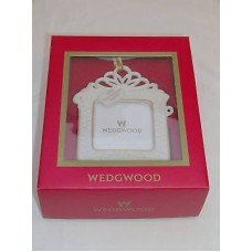 Wedgwood 1ST Our First ChristmasTogether Tree Ornament 2004 Picture Frame