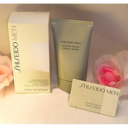 28568063a384 Shiseido Men Shaving Cream Razor Burn Minimumizer 3.6 oz 100 ml Skin ...