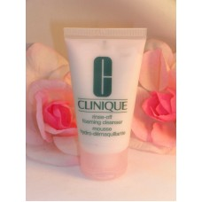 Clinique Rince Off Foaming Face Cleanser Travel Sample Size Tube 1 oz /30 ml