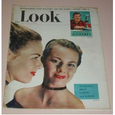 LOOK Magazine February 1, 1949 Necklines Drop Lower& lower America's Man Godfrey