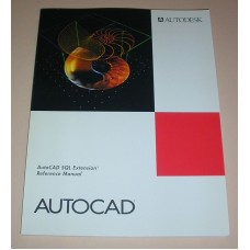 AutoCAD SQL Extension Referance Manual Release 12 Development System 1992