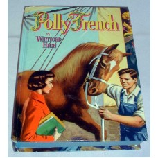 Vintage Polly French Of Whitford High Childrens Book Series Whitman