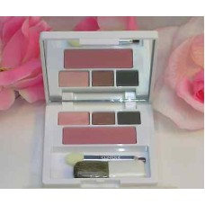 Clinique Color Colour Surge 3 Eye Shadows & Blush Compact Strawberry Slate