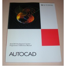 AutoCAD Development System Programers Reference Manual 1992