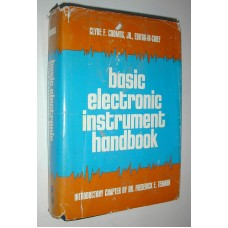 Vintage Basic Electronic Instrument Hand book 1972 Clyde F. Coombs Jr. Meters