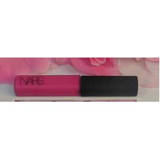 NARS Lip Gloss Angelika .13 oz / 3.7 g Travel Size Tube Hot Pink Lipgloss