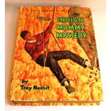 Vintage Troy Nesbit The Indian Mummy Mystery 1954 Children's Series Book
