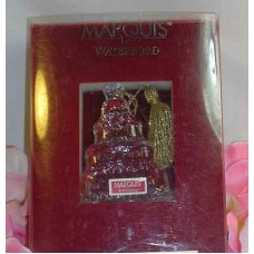 Waterford Marquis 2009 Our First Christmas Together Ornament Lead Crystal