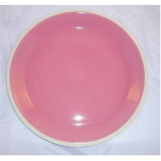 Dansk Coconut Grove Fucia  Pink / Brown Serving Cake Platter Great Gift