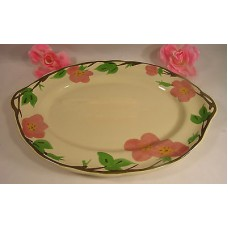 "Franciscan Desert Rose 14 "" x 10"" Oval Serving Platter Meat  Potatoes"