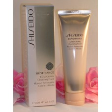 Shiseido Benefiance Extra Creamy Cleansing Foam 4.4 oz / 125 ml Full Size