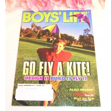 Boys Life Magazine March 2000 Go Fly A Kite Design Build Fly Bear Man Wrestling