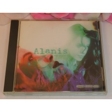 CD Alanis Morissette Jagged Little Pill 1995 12 Tracks Used CD Maverick Records
