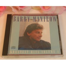 CD Barry Manilow 1989 Arista Records 10Tracks Greatest Hits Volume 1 Gently Used CD