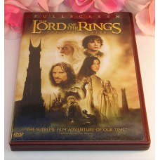 DVD The Lord Of The Rings The Two Towers Full Screen 2 DVD set Special Features