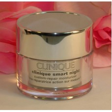 Clinique Smart Night Custom Repair Moisturizer .5 oz 15 ml Anti Aging Lines
