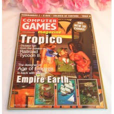 Computer Game Magazine June 2000 Tropico Age Of Empires Commandos 2 XBox ThiefII