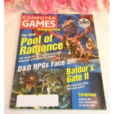 Computer Game Magazine May 2000 Pool Of Radiance Baldur's Gate II Terminus RPG's
