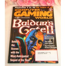 Computer Gaming World Magazine #196 2000 November Baldurs GateII The Sims Age II