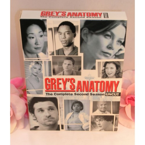 Dvd Greys Anatomy Complete Second Season 2 Tv Series Medical Drama