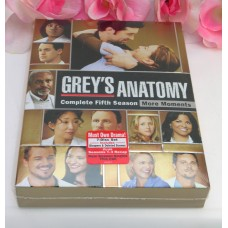 DVD Sealed Set DVD's Greys Anatomy Complete Fifth Season TV Series Medical Drama