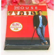 DVD Sealed Set DVD's House M.D. Season 3 TV Series Medical Drama 24 Episodes DVD's