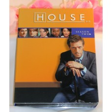DVD House M.D. Season 2 TV Series Medical Drama 24 Episodes 6Discs Gently Used