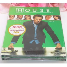 DVD Sealed Set DVD's House M.D. Season 4 TV Series Medical Drama