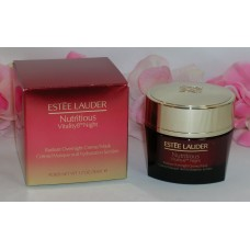 Estee Lauder Nutritious Vitality8 Radiant Overnight Creme / Mask 1.7oz 50 ml
